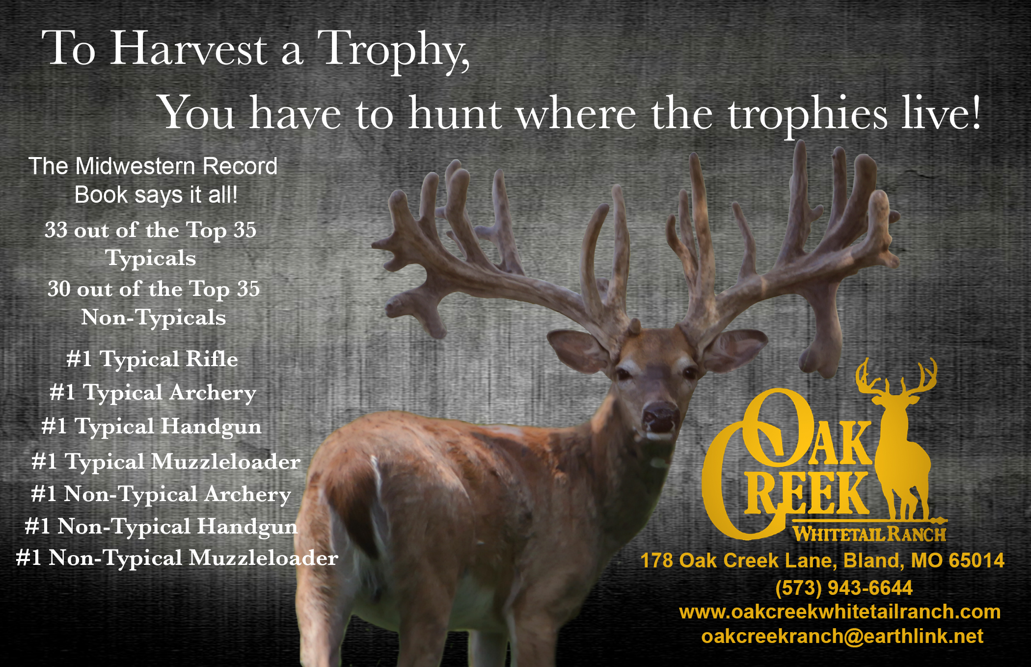 Nations Premier Whitetail Hunting Preserve